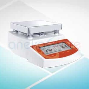 Hot plate magnetic stirrer MS-300